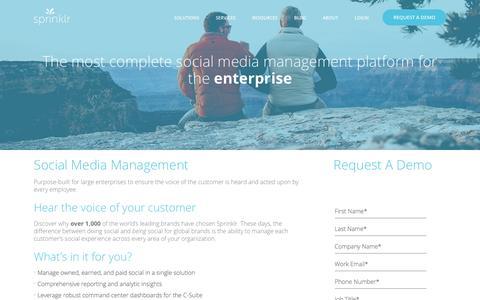 Social Media Management: Enterprise Social Media Management SMM
