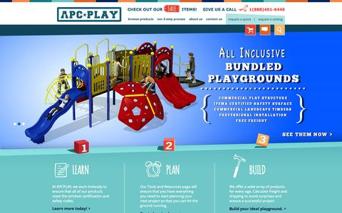 Screenshot of Home Page apcplay.com - APCPLAY Home | APCPLAY - captured Sept. 19, 2014