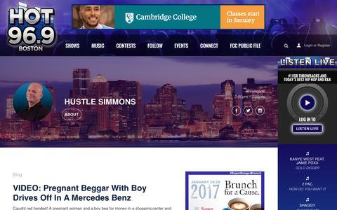 Hustle Simmons - HOT 96.9 Boston