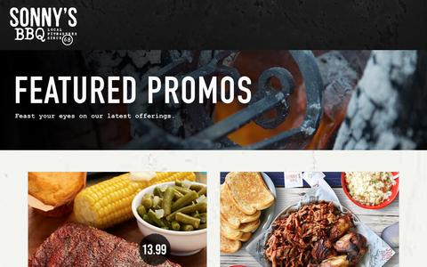 Featured Promos | Sonny's BBQ