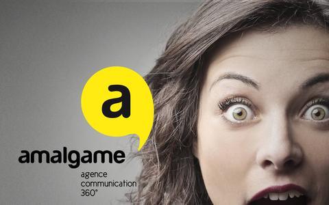 Screenshot of Home Page amalgame.fr - Amalgame   Communication & Web - captured Feb. 5, 2016