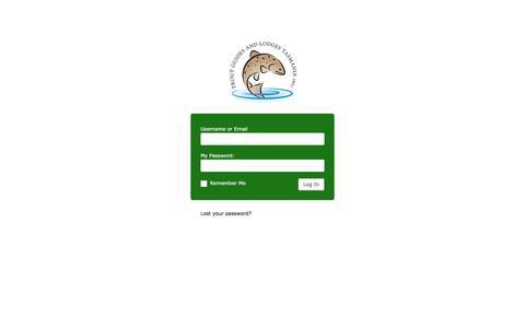 Screenshot of Login Page troutguidestasmania.com.au - Trout Guides and Lodges Tasmania ‹ Log In - captured June 16, 2016