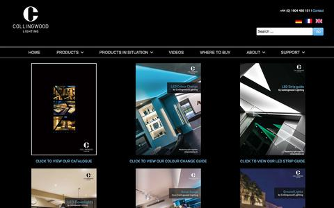 Screenshot of About Page collingwoodlighting.com - About - Collingwood Lighting - captured Sept. 25, 2018