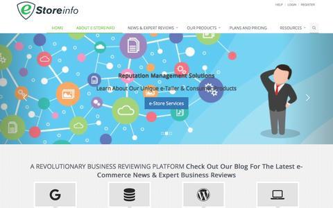 Screenshot of Blog estoreinfo.com - EstoreInfo Blog – Your Source For Everything e-Commerce - captured July 7, 2018