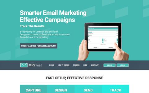 Email Marketing Software - MPZMail Email Marketing