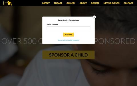 Screenshot of Home Page jaago.com.bd - JAAGO Foundation   Breaking the cycle of poverty through education and rebuilding our nation - captured Sept. 29, 2017