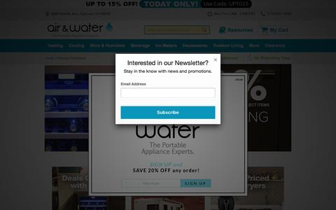 Screenshot of air-n-water.com - February Promotions - captured Feb. 11, 2017