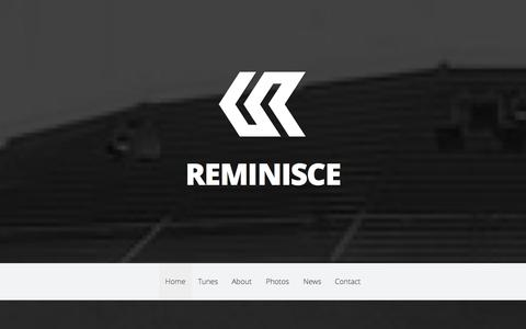 Screenshot of About Page Press Page reminisce.dj - REMINISCE - Countdown Events Interactive Live Music Experiences - captured Oct. 26, 2014