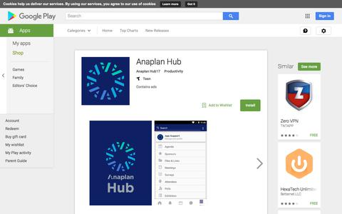 Anaplan Hub - Android Apps on Google Play