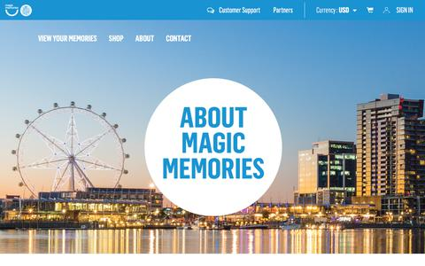 Screenshot of About Page magicmemories.com - About Us - Magic Memories - captured July 22, 2017