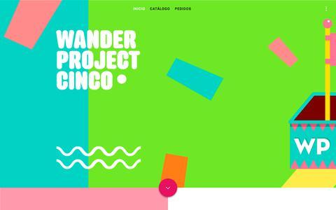 Screenshot of Home Page wanderlust.com.gt - Wanderlust – ¡Zapatos y accesorios personalizados 100% guatemaltecos! - captured Oct. 26, 2017