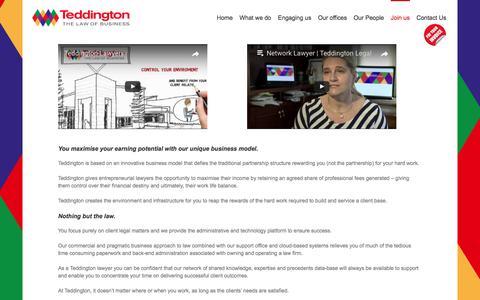Join Us at Teddington Legal |