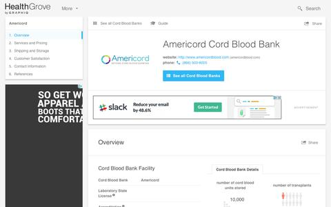 Americord Cord Blood Bank - Reviews & Pricing