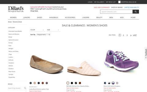 Sale & Clearance Women's Shoes | Dillards
