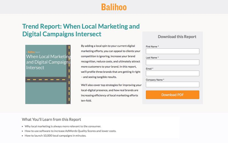Trend Report: When Local Marketing and Digital Campaigns Intersect
