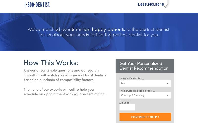 1-800-DENTIST - FIND A DENTIST©