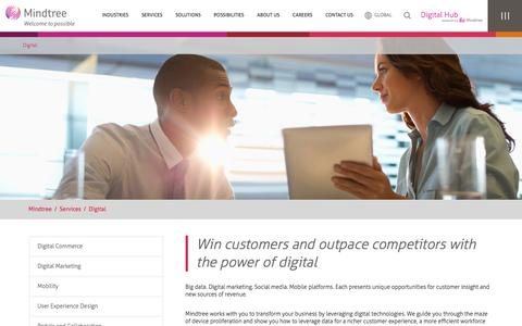 Digital Business Solutions - Digital Strategy Services | Mindtree