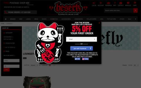 LOUNGEFLY : Buy Online Australia Beserk