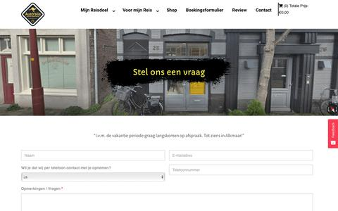 Screenshot of Contact Page backpackers.nl - Contact - Australian Backpackers - captured Oct. 21, 2019