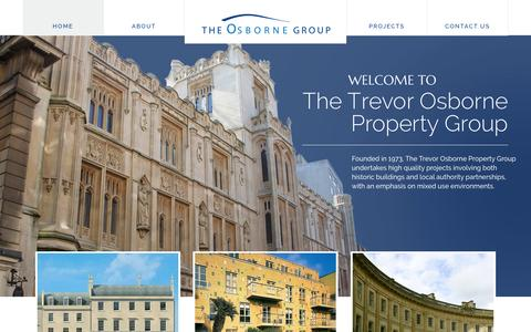 Screenshot of Home Page topgroup.co.uk - Welcome to the Trevor Osborne Property Group - captured Feb. 15, 2016