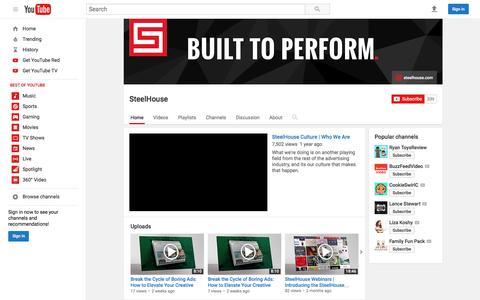 SteelHouse  - YouTube