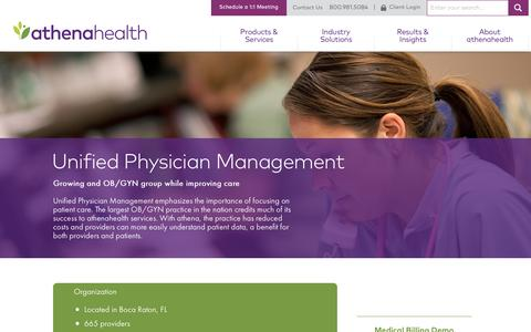OB-GYN Practice Management | athenaCollector | athenahealth