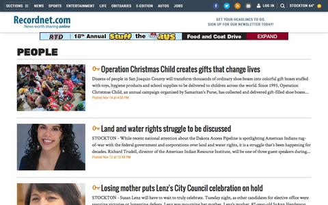 Screenshot of Team Page recordnet.com - People - recordnet.com - Stockton, CA - Page 2 - captured Nov. 18, 2016