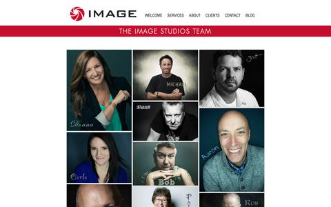 Screenshot of Team Page imagestudios.com - The Team Behind our Award Winning Production Company in Wisconsin - captured Nov. 12, 2018