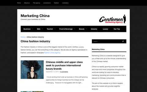 Everything about Fashion in China