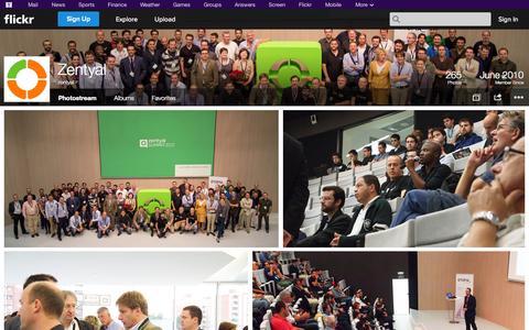 Screenshot of Flickr Page flickr.com - Flickr: zentyal's Photostream - captured Oct. 22, 2014