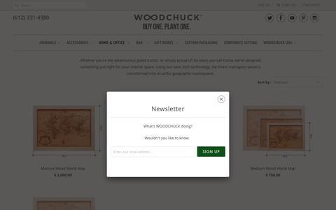 Screenshot of Maps & Directions Page woodchuckusa.com - Wood World Maps   Woodchuck USA - captured Aug. 14, 2016