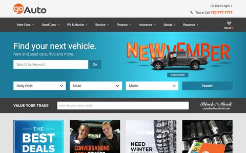 New and Used Cars for sale in Edmonton | Go Auto