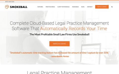 Law Practice Management Software - Best Cloud-based Firm Manager