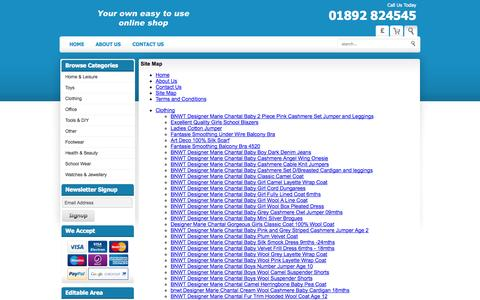 Screenshot of Site Map Page imijo.co.uk - Sitemap - captured Sept. 30, 2014