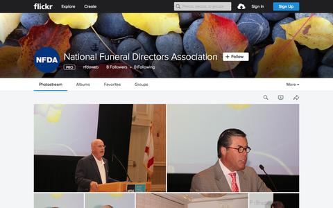 Screenshot of Flickr Page flickr.com - National Funeral Directors Association | Flickr - Photo Sharing! - captured Nov. 14, 2015