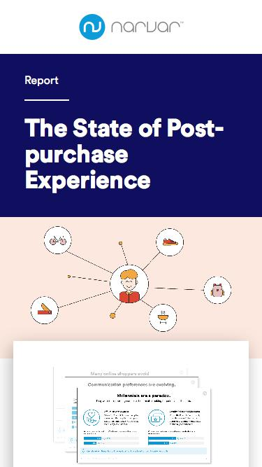 The State of Post-purchase Experience