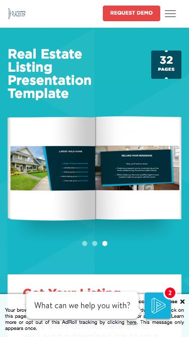 Real Estate Listing Presentation | Placester