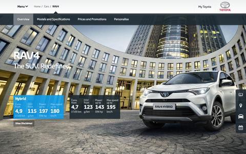 RAV4 Overview & Features | Hybrid & Diesel - Toyota Europe