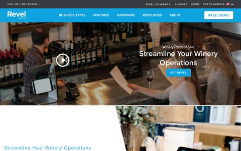 Winery POS System   Revel iPad Point of Sale
