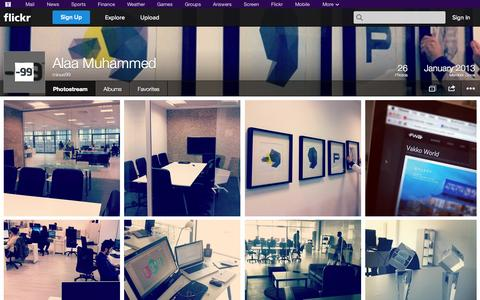 Screenshot of Flickr Page flickr.com - Flickr: minus99's Photostream - captured Oct. 26, 2014