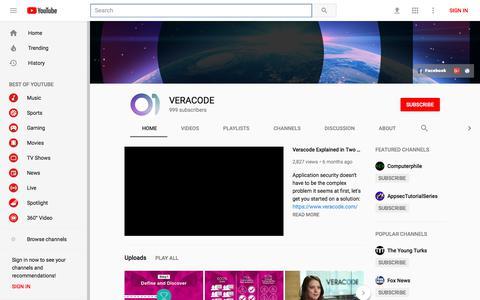 VERACODE - YouTube