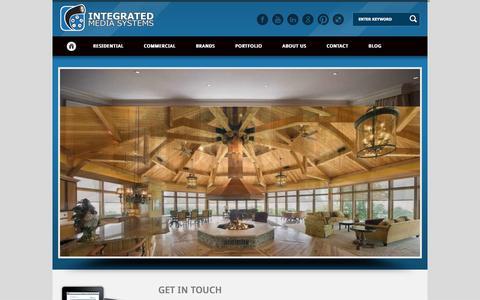 Screenshot of Home Page imsva.com - Integrated Media Systems   Integrated Media Systems.  Taming Technology since 1979 - captured Nov. 26, 2016