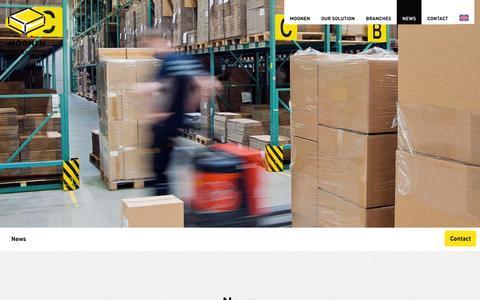 Screenshot of Press Page moonenpackaging.com - News | Moonen Packaging - captured Aug. 13, 2016