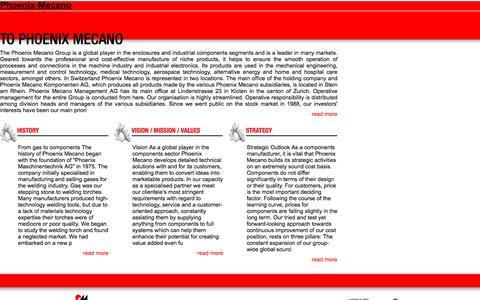 Screenshot of Home Page phoenix-mecano.com.au - Phoenix-Mecano - captured July 30, 2017