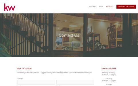 Screenshot of Contact Page kwlondon.com - Contact — KELLER WILLIAMS LIFESTYLES REALTY, BROKERAGE - captured Oct. 17, 2017