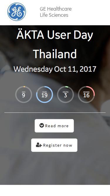 ÄKTA User Day, Thailand