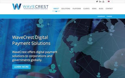 Screenshot of About Page wavecrest.gi - WaveCrest |   ABOUT - captured Feb. 21, 2016