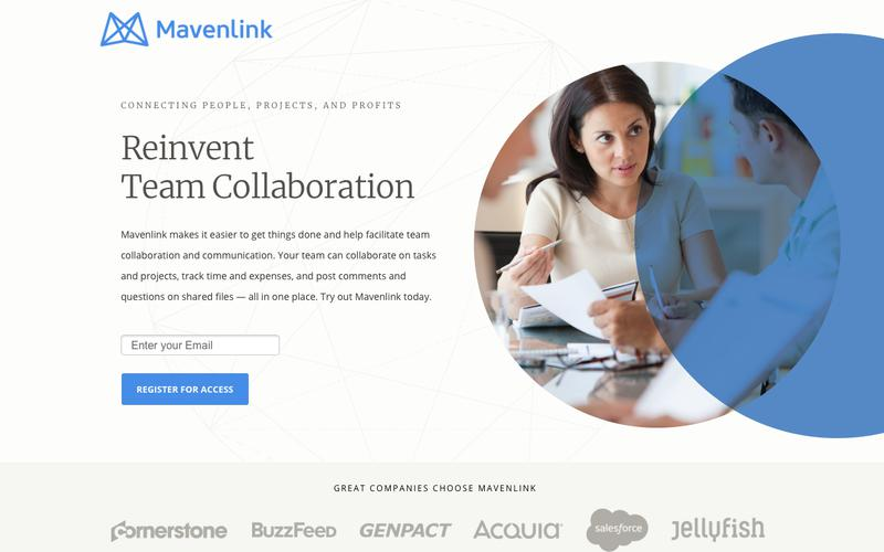 Team Collaboration Software | Mavenlink