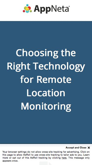 Choosing the Right Technology for Remote Office Monitoring