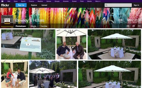 Screenshot of Flickr Page flickr.com - Flickr: Bewley's Hotels' Photostream - captured Oct. 23, 2014